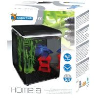 Superfish Home 8 Aquarium schwarz