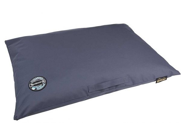 Scruffs Hundekissen Expedition Memory Foam L blau