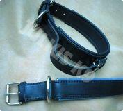 Lederhalsband mit verstellbarem Griff 70 cm