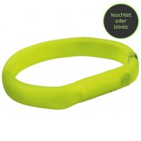 Flash Leuchtband Safer Life USB, grün