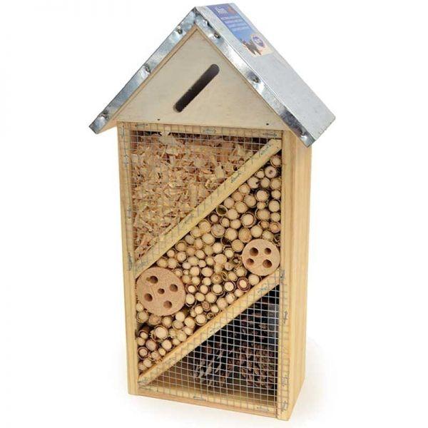 Duvo+ Insektenhotel Alvin 21x10x37 cm