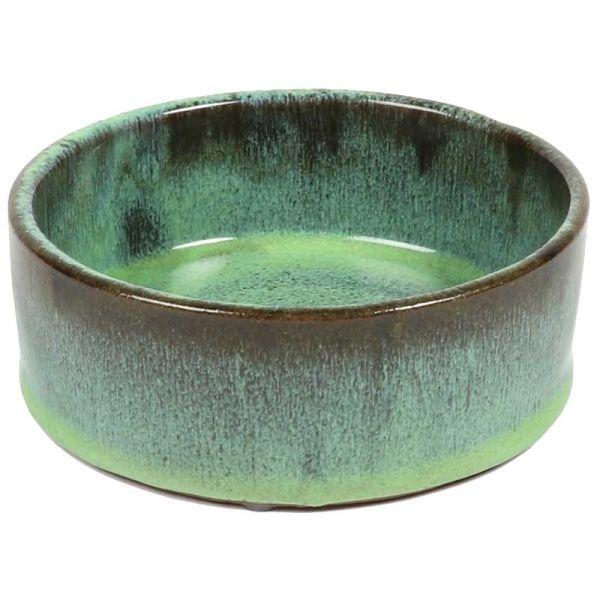 D&D Keramiknapf Jasper grün