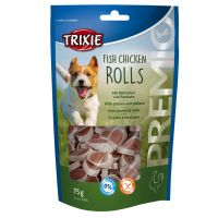 Trixie Premio Fish Chicken Rolls 75g
