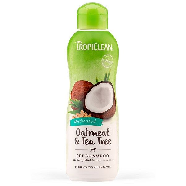 TropiClean Oatmeal & Tea Tree Shampoo 355ml
