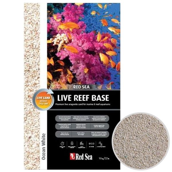 Red Sea Live Reef Base Ocean White Aragonit 10 kg
