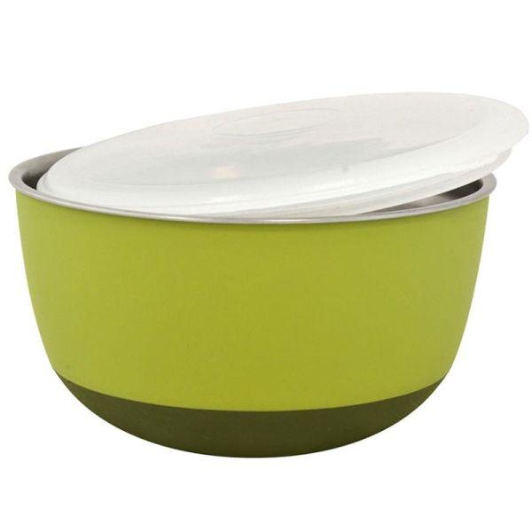 Duvo+ Edelstahlnapf Balance Ø 19,5 cm grün