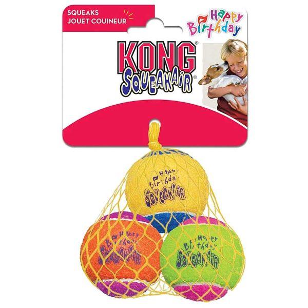Kong SqueakAir Birthday Balls M