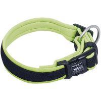 Halsband Mesh Preno neon gelb, L 30-45 cm 20/25 mm