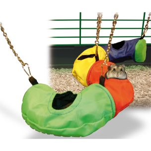 Hamstertunnel Nylon - Chicane, 45 x 16,5 x 6,5 cm