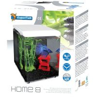 Superfish Home 8 Aquarium weiss