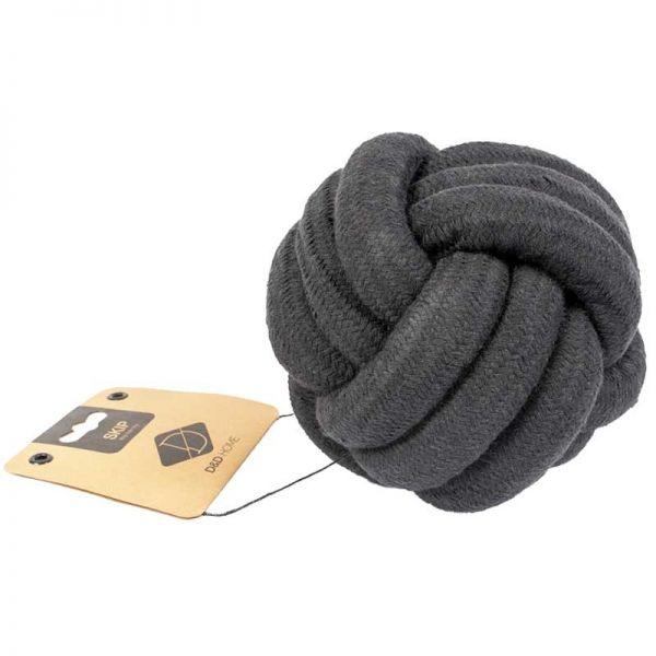 D&D Home Skip Knotenball 15 cm schwarz