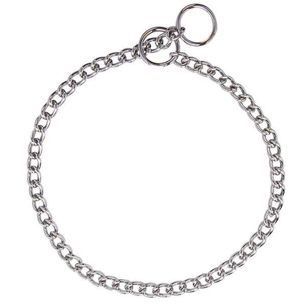 Nobby Halskette Chrom kleine Glieder Ø 4 mm