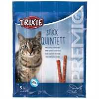 Trixie Premio Stick-Quintett Lachs/Forelle 5x5g