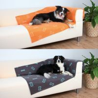 Fleecedecke Barney 150 x 100 cm, orange