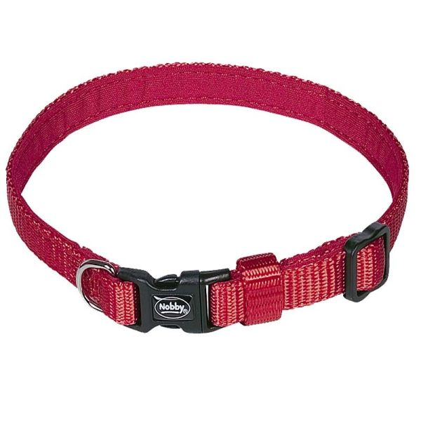 Nobby Halsband Mini rot L: 13-20cm/B: 10mm