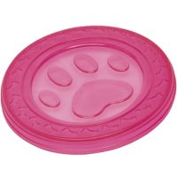 Nobby TPR Fly-Disc Paw pink