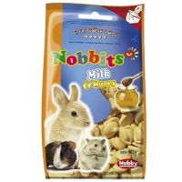 StarSnack Nobbits Milk & Honey Nagersnack 75 g