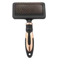 Noir Soft Slicker Brush L Zupfbürste