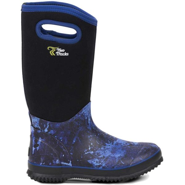 TwoTracks Neoprenstiefel Midnight High