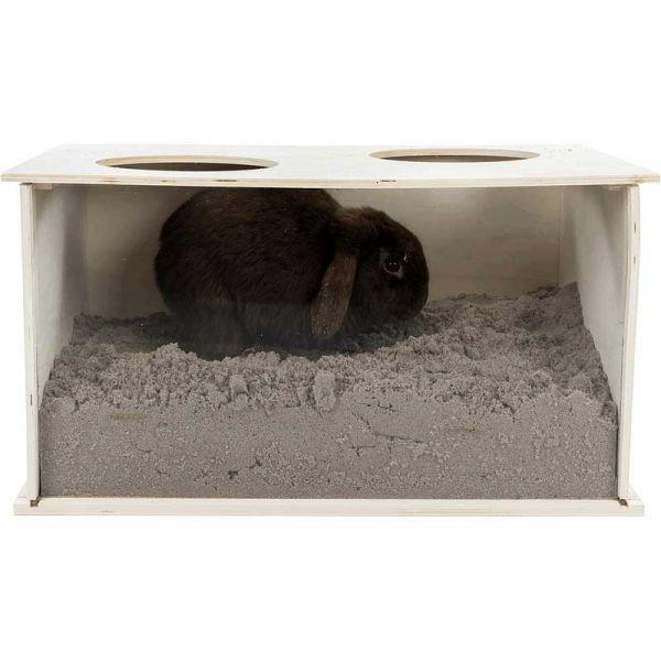 Trixie Buddelkiste für Kaninchen 58x30×38cm
