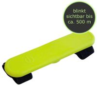 Nobby LED Silikon Klettsticker Flash gelb