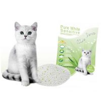 ebi Pure White Sensitive Katzenstreu Aloe Vera 15l