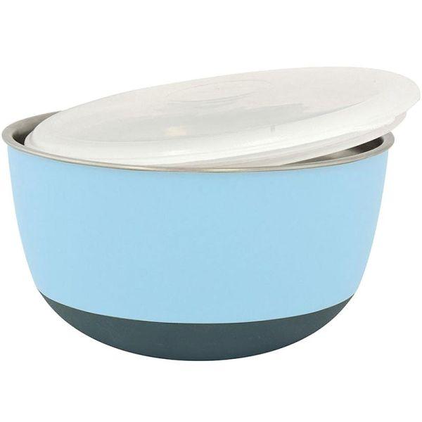 Duvo+ Edelstahlnapf Balance Ø 13,5 cm blau