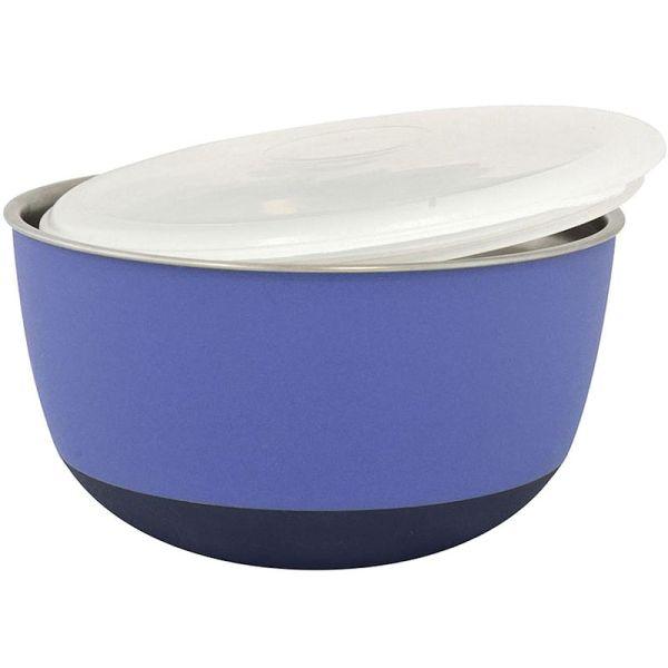Duvo+ Edelstahlnapf Balance Ø 13,5cm violett 700ml