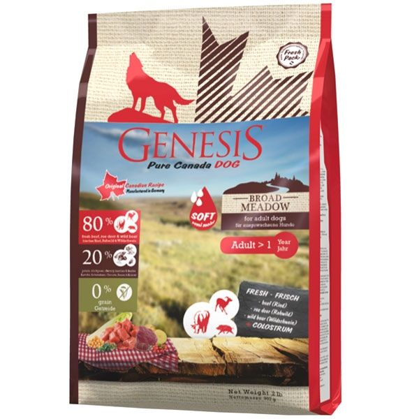 Genesis Pure Canada Broad Meadow Adult Soft
