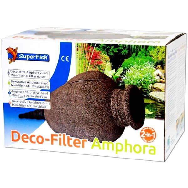 Superfish Deco-Filter Amphore