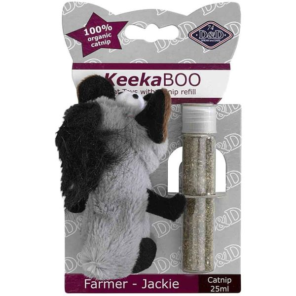 D&D KeekaBoo Farmer Catnip Katzenspielzeug