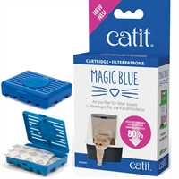 Catit Magic Blue Luftreiniger Katzentoilette