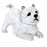 West Highland Terrier Hundefigur Polyresin