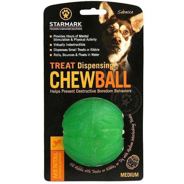 Starmark Treat Dispensing Chew Ball M