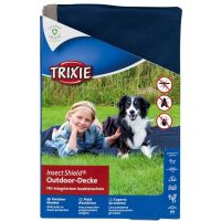 Trixie Insect Shield®Outdoor-Decke 100x70 cm navy