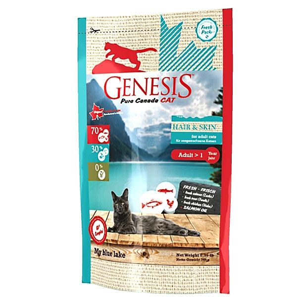 Genesis Pure Canada Cat My blue lake 340 g