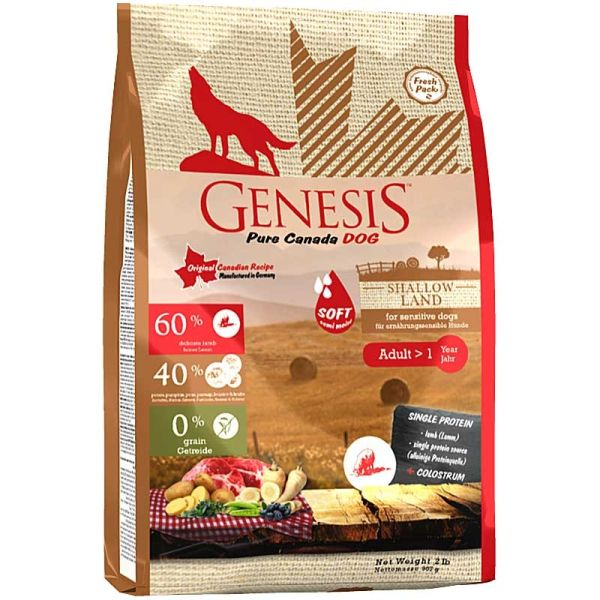 Genesis Pure Canada Dog Shallow Land Adult Soft