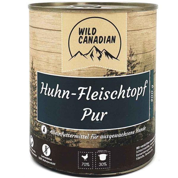 Wild Canadian Huhn Fleischtopf pur
