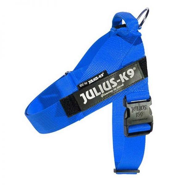 Julius K9 IDC Gurtbandgeschirr blau, Gr. 1