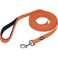 Nobby Schleppleine Cover 10m neonorange
