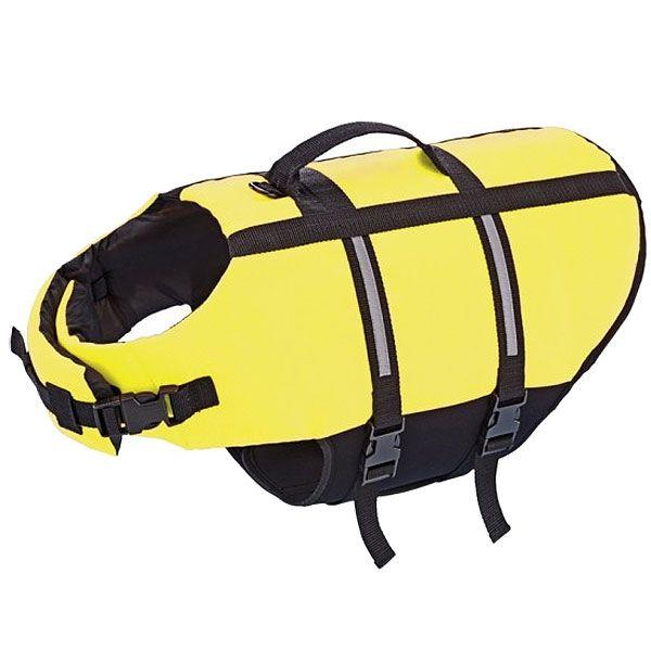 Nobby Hunde Schwimmhilfe neon gelb