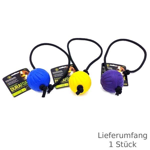 Starmark Fantastic DuraFoam Ball am Seil L